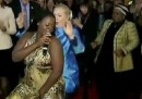 Il balletto di Hillary Clinton in Sudafrica