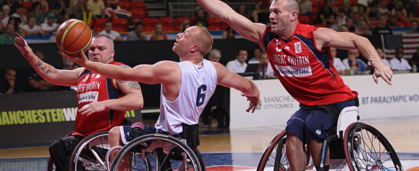 BT Paralympic World Cup - Day Three