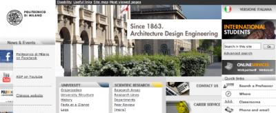 L'inglese al Politecnico di Milano