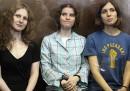 Le Pussy Riot sono state condannate