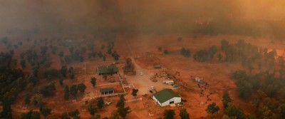 Le foto degli incendi in Oklahoma