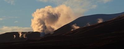 Le foto dell'eruzione del Tongariro