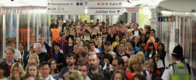 La Central Line della metropolitana di Londra è ferma