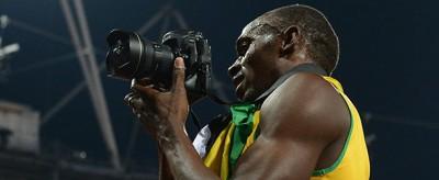 Di chi sono le foto che ha fatto Usain Bolt alle Olimpiadi?