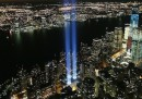 Il Tribute in Light a Manhattan