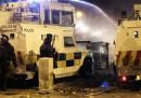 I nuovi scontri a Belfast