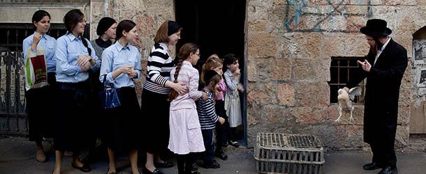 Orthodox Jews Perform Kapparot Ritual Ahead Of Yom Kippur