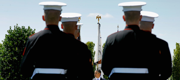 Pentagon Holds Farewell Ceremony For Robert Gates