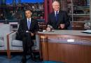 Obama da Letterman