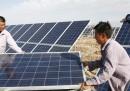 Cina e UE litigano per i pannelli solari