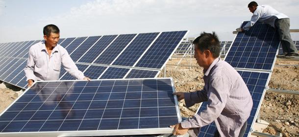 Cina e ue litigano per i pannelli solari il post for Pannelli solari solar