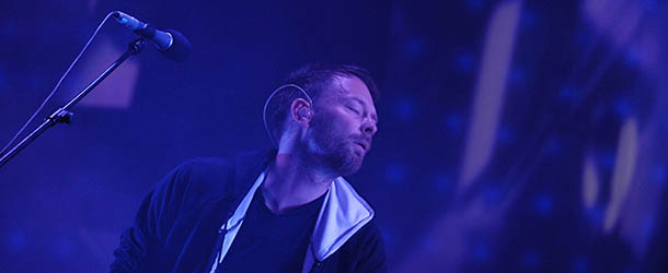 Thom Yorke, the singer of the British ba