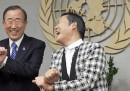 Ban Ki-moon balla Gangnam Style con PSY