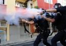 Le foto degli scontri a Istanbul