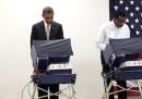 Obama ha già votato, a Chicago