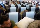 La guerra dei cuscini tra i marines di ritorno dall'Afghanistan