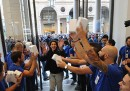 L'inaugurazione dell'Apple Store di Torino