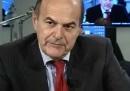 Che cosa ha detto Bersani