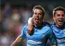 Il gol decisivo segnato oggi da Alessandro Del Piero con il Sydney FC