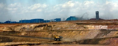 Le enormi miniere della Mongolia