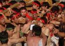 Il festival del combattimento in Giappone