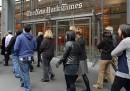 La protesta dei redattori del New York Times