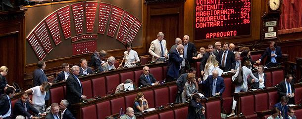 Chi in parlamento da pi tempo il post for Camere parlamento