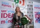 La conferenza stampa di presentazione di Laura Puppato