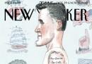 La nuova copertina del New Yorker su Romney