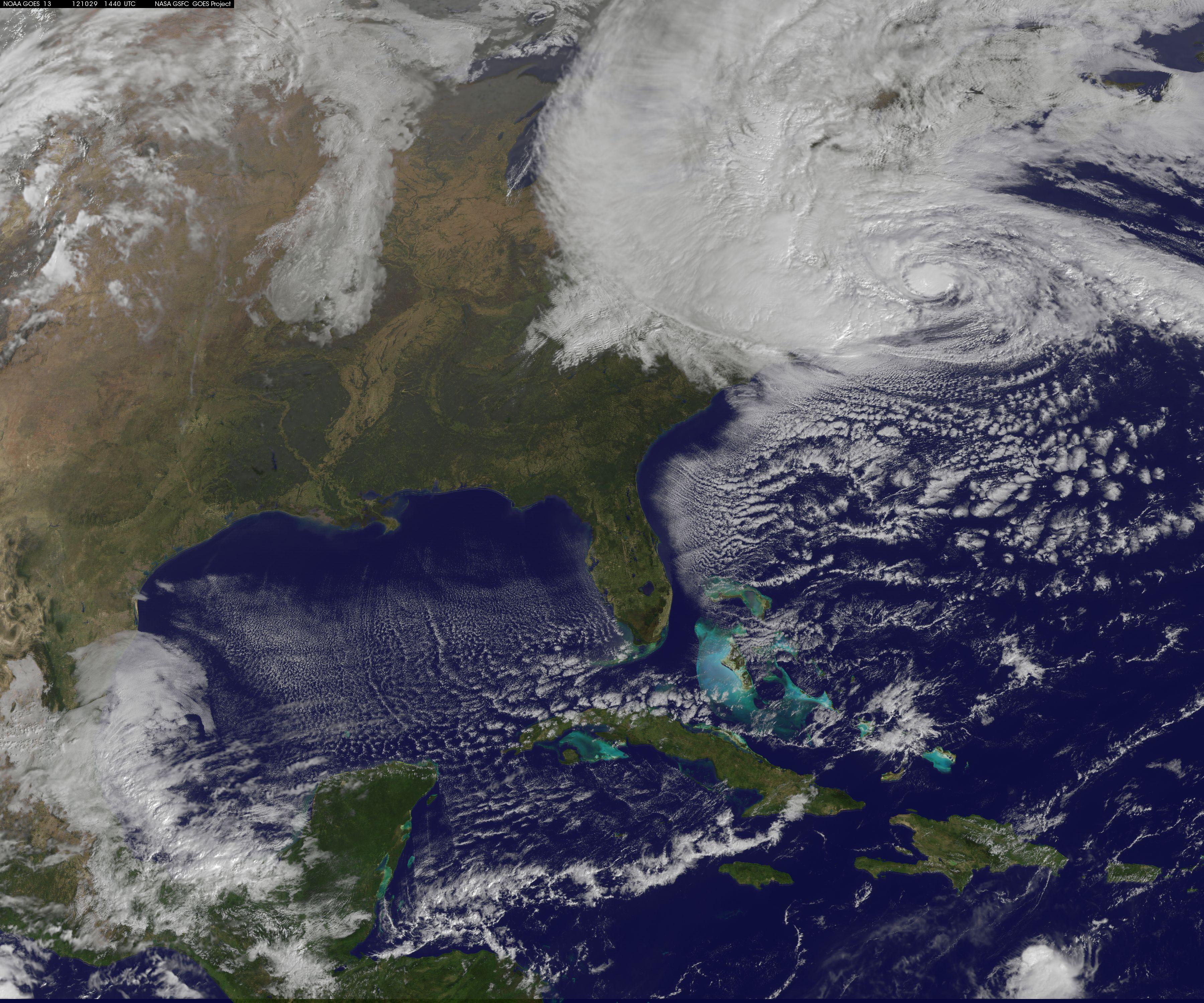 hurricane sandy atlantic ocean nasa - HD3600×3000