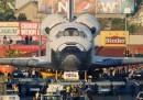 Lo Shuttle per le strade della California