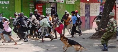 Le foto degli scontri in Kenya