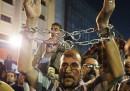 Le foto delle proteste al Cairo