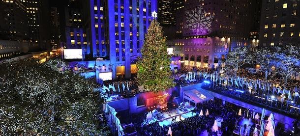 Albero Di Natale New York.L Albero Di Natale Del Rockefeller Center Il Post