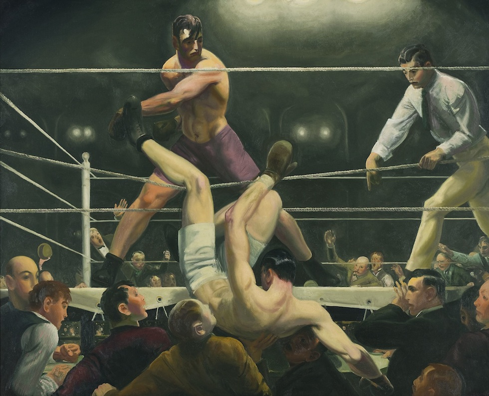 Peinture, peintres et peintures. 22.-Dempsey-and-Firpo-1924