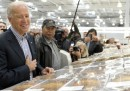 Joe Biden all'ipermercato