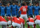 La nazionale italiana di rugby ha battuto Tonga