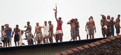 La rivolta dei carcerati in Sri Lanka