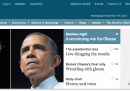 Home page vittoria Obama - Economist