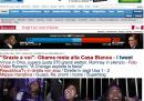 Home page vittoria Obama - Repubblica