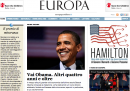Home page vittoria Obama - Europa