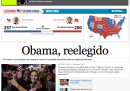 Home page vittoria Obama - El Paìs
