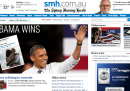 Home page vittoria Obama - Sydney Morning Herald
