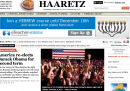 Home page vittoria Obama - Haaretz