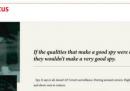 La pagina a pagamento dell'MI6 sull'Economist