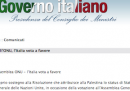 L'Italia voterà a favore della risoluzione palestinese