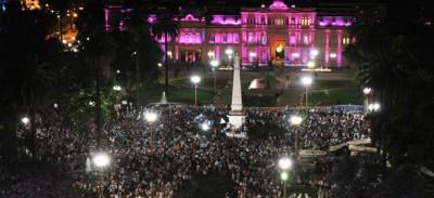 Le manifestazioni in Argentina