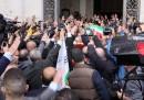 Roma, Funerali di Pino Rauti