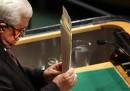 La Palestina è osservatore all'ONU