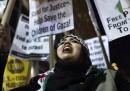 Le manifestazioni su Gaza
